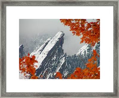 Third Flatiron Framed Print