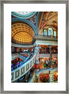Third Story Framed Print by Stephen Campbell