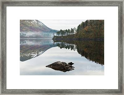 Thirlmere Hourglass Framed Print