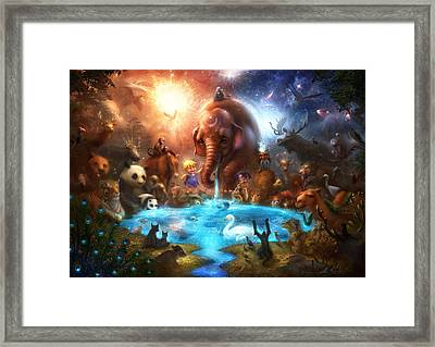 Thirst For Life Framed Print by Alex Ruiz