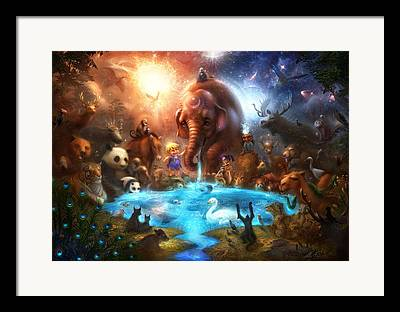 Sharing Digital Art Framed Prints