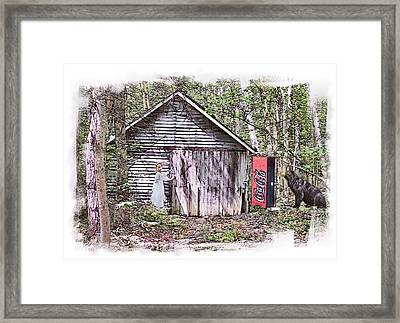 Thirst Quest Framed Print by Rose Guay
