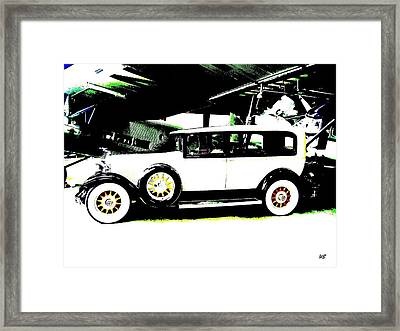 Thirties Packard Limo Framed Print by Will Borden