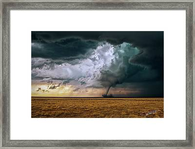 This Ain't Kansas Framed Print
