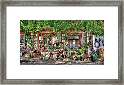This And That The Store Is Closed Art Framed Print by Reid Callaway