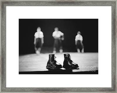 This Boots Are Made For Dancing Framed Print by Philippe Taka