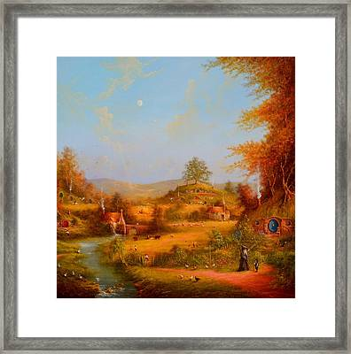 This Could Spell Trouble. Framed Print