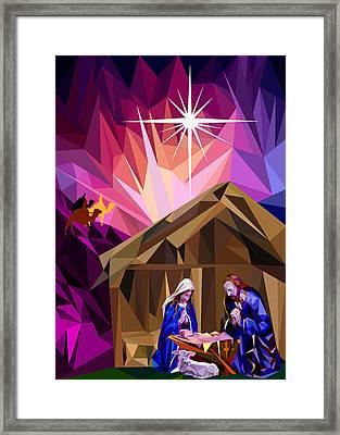 This Holy Night Framed Print