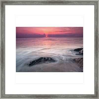 This Image Was Photographed Along The Framed Print