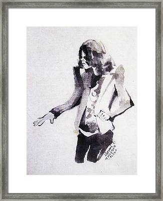 This Is - This Is It Framed Print by Hitomi Osanai