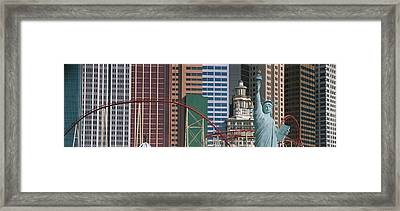 This Is A Close Up Of The New York New Framed Print by Panoramic Images