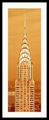 Tall Buildings Framed Prints