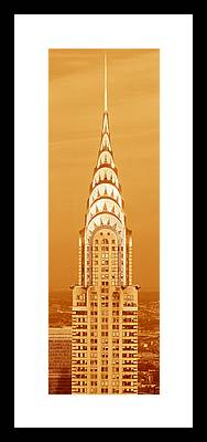 Chrysler Building Framed Prints