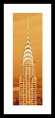 Chrysler Building Framed Prints