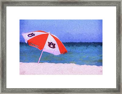 This Is Auburn Framed Print by JC Findley