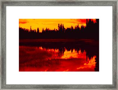This Is British Columbia 15 - Long Meadow Lake Framed Print