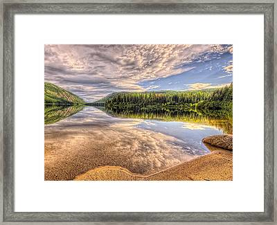 This Is British Columbia No.28 - Conkle Lake Framed Print by Paul W Sharpe Aka Wizard of Wonders