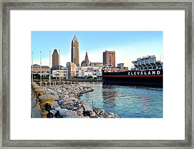 This Is Cleveland Framed Print by Frozen in Time Fine Art Photography