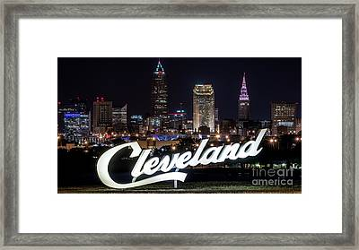 This Is Cleveland Upper Edgewater Framed Print by Frank Cramer