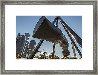 This Is Detroit Framed Print by Pat Eisenberger
