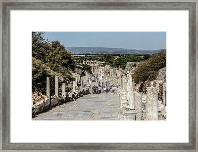 This Is Ephesus Framed Print