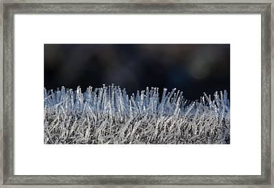 This Is Frost Framed Print