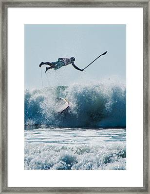 This Is Going To Hurt Framed Print by Steven Natanson
