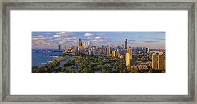 This Is Lincoln Park With Diversey Framed Print by Panoramic Images