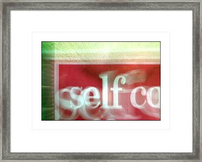 This Is Me Being Me And Thats Just The Way I Am Framed Print by Jez C Self