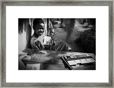 This Is My Art Framed Print by Carlos German Romero