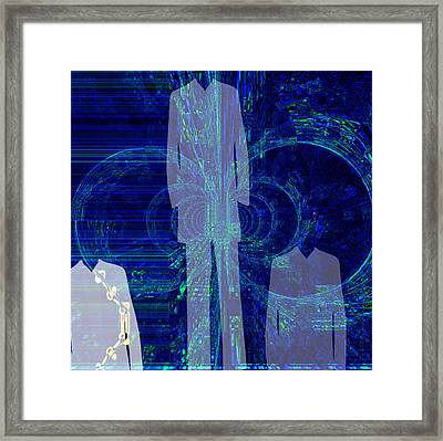 This Is Not It 2 Framed Print by Fania Simon