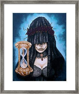Framed Print featuring the painting This Is Not The End Its Just The Beginning by Al  Molina