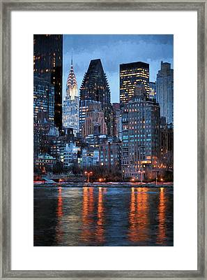 This Is Nyc Framed Print by JC Findley