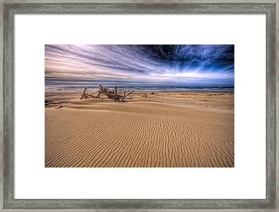 This Is Oregon State No.17 - Florence Beach Framed Print by Paul W Sharpe Aka Wizard of Wonders