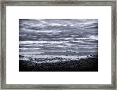 This Is Oregon State No.22 - Above The Clouds Framed Print by Paul W Sharpe Aka Wizard of Wonders