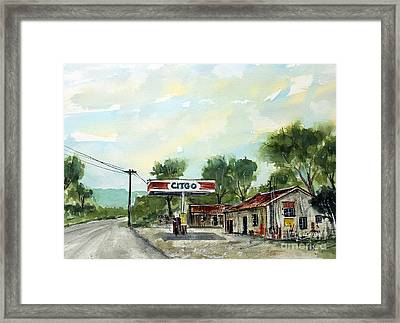 This Is Pott's Place Framed Print