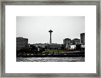 This Is Seattle  Framed Print