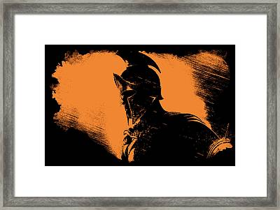 This Is Sparta Framed Print