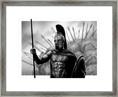 This Is Sparta Framed Print by Ronald Barba