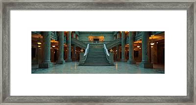 This Is The Interior Of The State Framed Print by Panoramic Images
