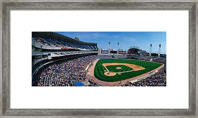 This Is The New Comiskey Park Stadium Framed Print by Panoramic Images