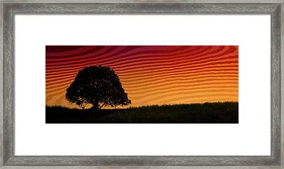 This Is The Philippines No.11 - Mango Tree Sunset Framed Print by Paul W Sharpe Aka Wizard of Wonders