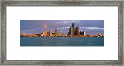 This Is The Skyline And Renaissance Framed Print