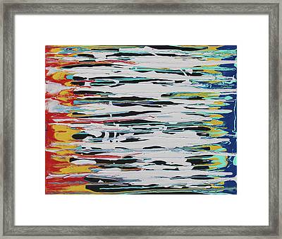 This Is Us Framed Print by Cyrionna The Cyerial Artist