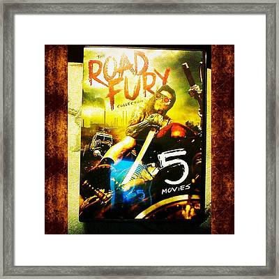 This Is Why I Still Buy Dvd's! the Framed Print