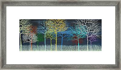This Is Your Brain On Trees Framed Print