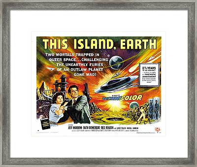 This Island Earth Science Fiction Classic Movie Framed Print