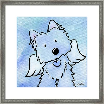 This Isn't Goodbye Framed Print by Kim Niles