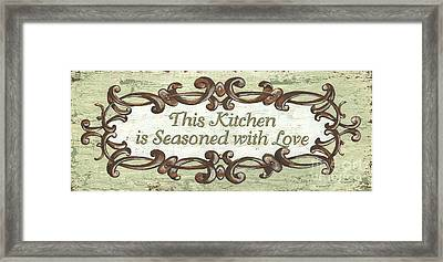 This Kitchen Framed Print by Debbie DeWitt