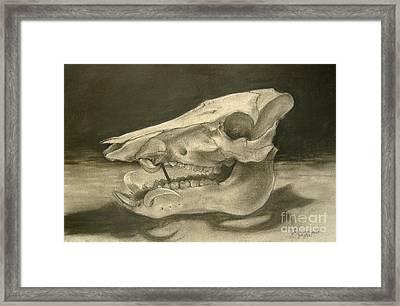 This Little Piggy Framed Print by Julianna Ziegler